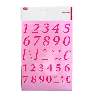 Шаблон, цифри, A 5
