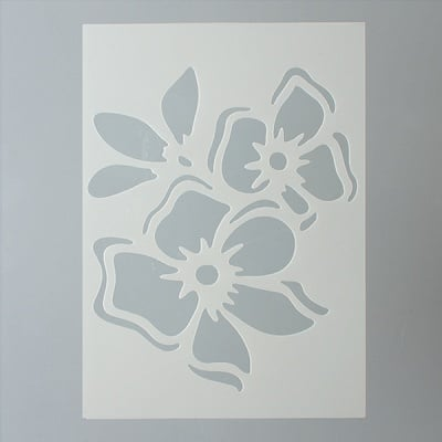 Шаблон, цвете, 1 част, DIN A5
