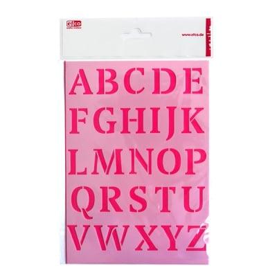 Шаблон, главни букви, A 5