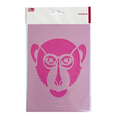 Шаблон, маймунка, A5