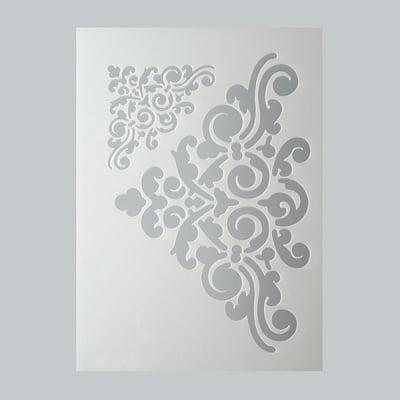 Шаблон, орнаменти, 2 части, DIN A5