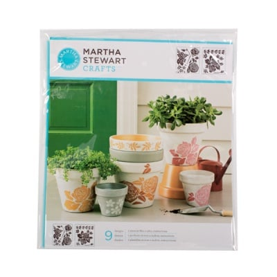 Шаблон среден Martha Stewart, Rose Garden, 22 x 24 cm, 2 броя