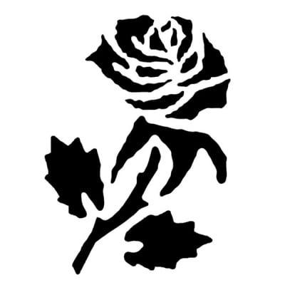 Шаблон за татуировка FANTASY Tattoo, роза