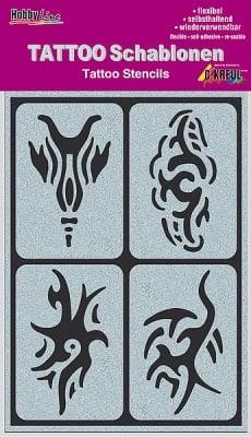 Шаблон за татуировка Tattoo Schablone, Tribals
