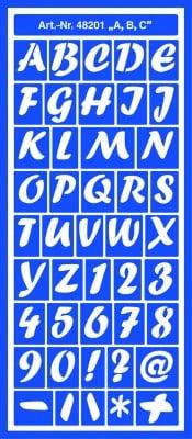 Шаблони за декорация Motiv-Schablone, самоздържащи, A, B, C