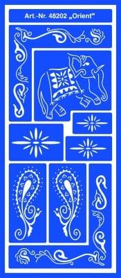 Шаблони за декорация Motiv-Schablone, самоздържащи, Orient