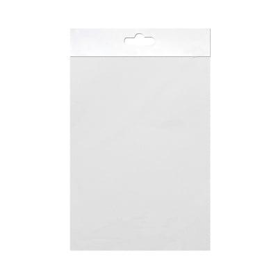 Шифонен шал от естествена коприна, Chiffon, 55 x 180 mm,  бял