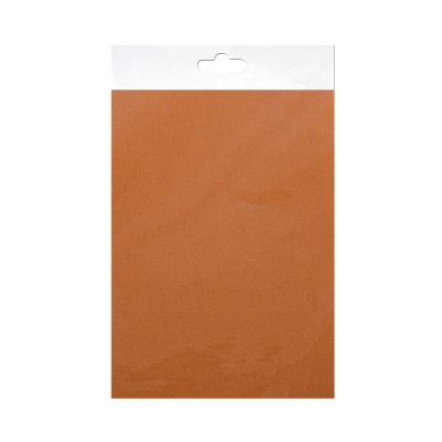 Шифонен шал от естествена коприна, Chiffon, 55 x 180 mm, кафяв
