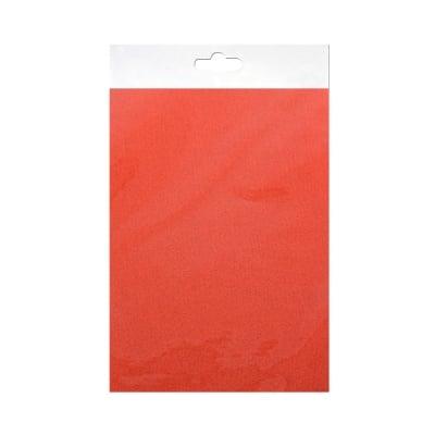 Шифонен шал от естествена коприна, Chiffon, 55 x 180 mm, оранжев