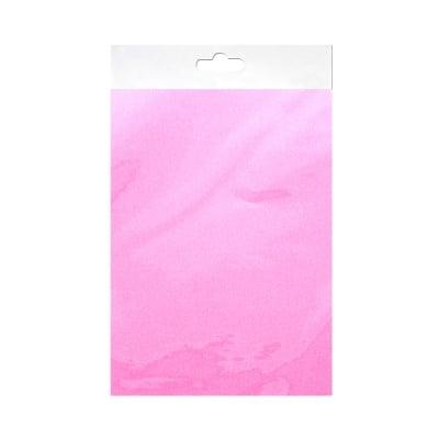 Шифонен шал от естествена коприна, Chiffon, 55 x 180 mm, светло розов