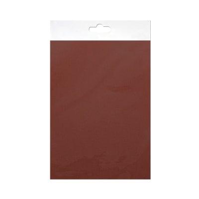 Шифонен шал от естествена коприна, Chiffon, 55 x 180 mm, тъмно кафяв