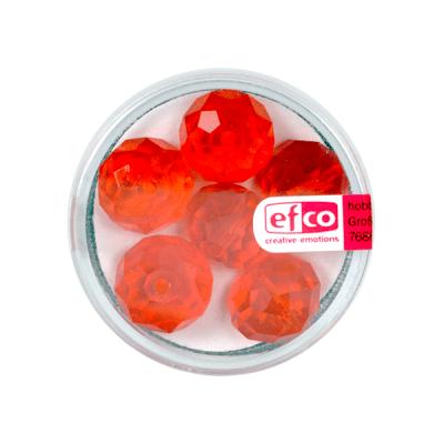 Шлифовани, многост. перли Brilliance, 10x14 mm, 6 бр., цвят Сиам