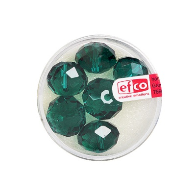 Шлифовани, многост. перли Brilliance, 10x14 mm, 6 бр., синьо-зелени