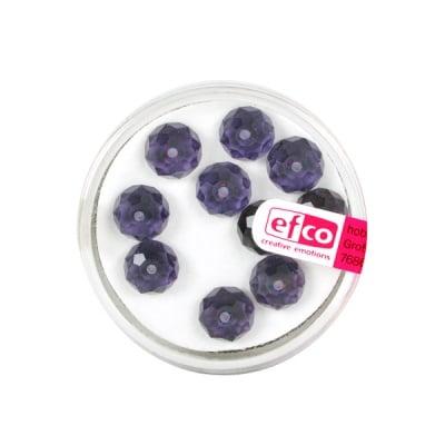 Шлифовани, многост. перли Brilliance, 6x8 mm, 10 бр., лилави