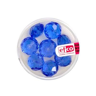 Шлифовани, многост. перли Brilliance, 8x12 mm, 8 бр., кралскосини