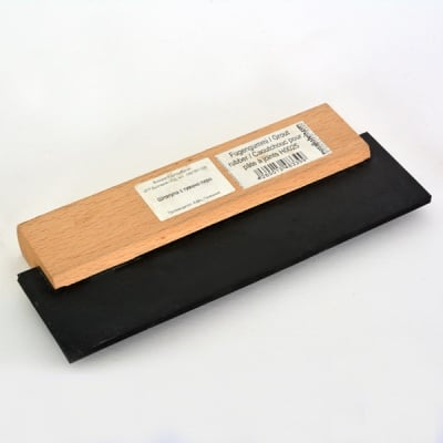 Шпатула с гумено перо за мозайка, 18 cm