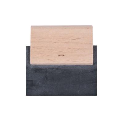 Шпатула с гумено перо за мозайка, 7 cm