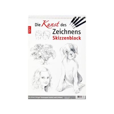 Skizzenblock 24x34cm Kunst des Zeichnens