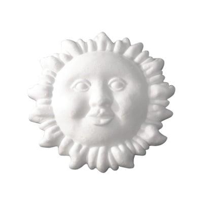 Слънце от стиропор, бял, ф 240 mm