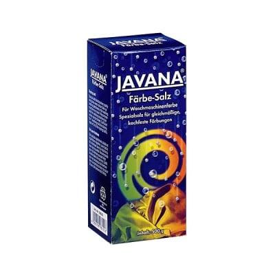 Сол за подсилване цвета на топли бои за текстил, JAVANA, 500g