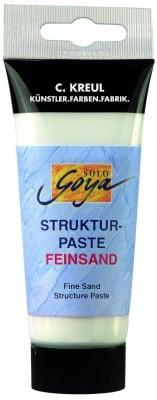 Структурна паста Solo GOYA, 100 ml, ситен пясък