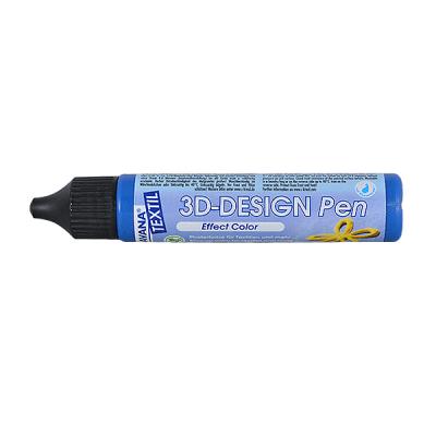 Текстилна боя 3D-Design Pen JAVANA, 29 ml, кралско синя