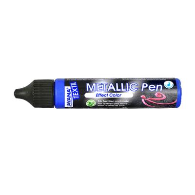Текстилна боя Metallic Pen JAVANA, 29 ml, люлякова