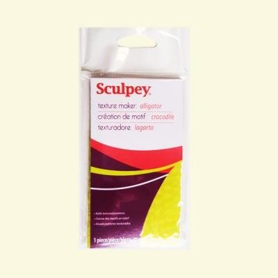 Текстурен шаблон за глина Sculpey, алигаторска кожа