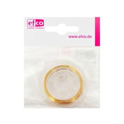 Тел за бижута, ф 0,40 mm, 10 m, злато