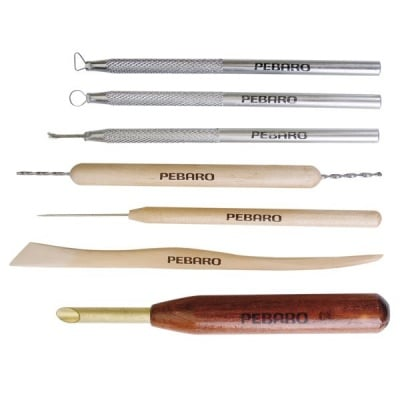 Комплект инструменти за моделиране Pebaro, 7 части