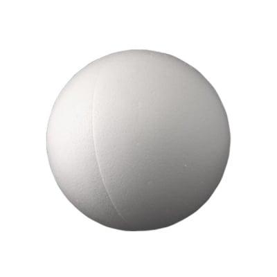 Топка от стиропор, бял, ф 100 mm