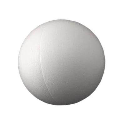 Топка от стиропор, бял, ф 120 mm