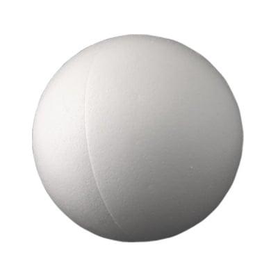 Топка от стиропор, бял, ф 150 mm