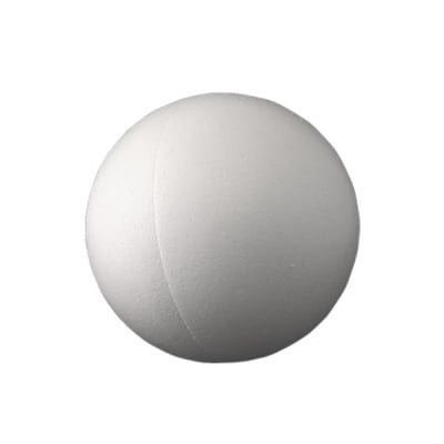 Топка от стиропор, бял, ф 80 mm