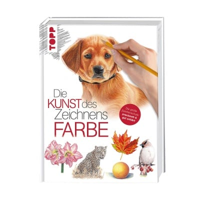 Книга техн. литература, Die Kunst des Zeichnens - Farbe
