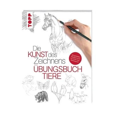Книга техн. Литература, Die Kunst des Zeichnens - Tiere – ubungsbuch