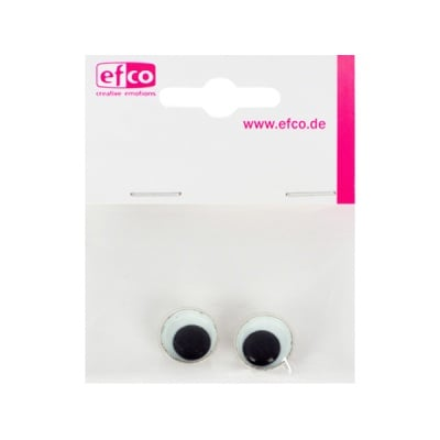 Трептящи очички - копчета, ф 14 mm, 2 броя