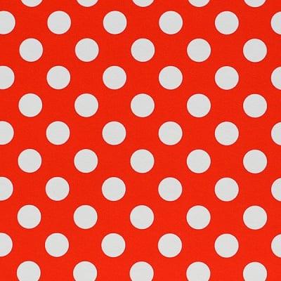 Варио картон, 300 g/m2, 50 x 70 cm, 1л, бял/червен на точки