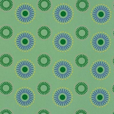 Варио картон, 300 g/m2, 50 x 70 cm, 1л, Кръгове, зелен