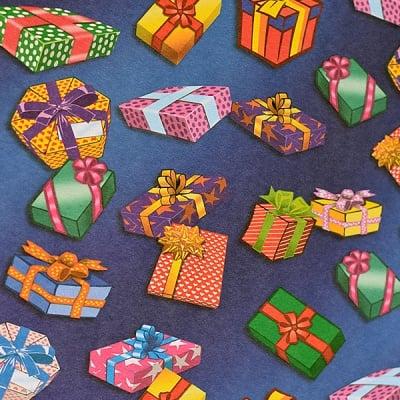 Варио картон, 300 g/m2, 50 x 70 cm, 1л, пакети подаръци