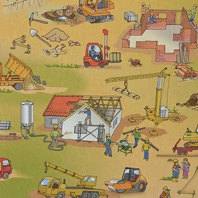 Варио картон, 300 g/m2, 50 x 70 cm, 1л, строителство/селско стопанство