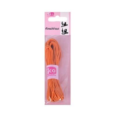 Восъчно памучен шнур, ф 2 mm / 6 m, оранжев