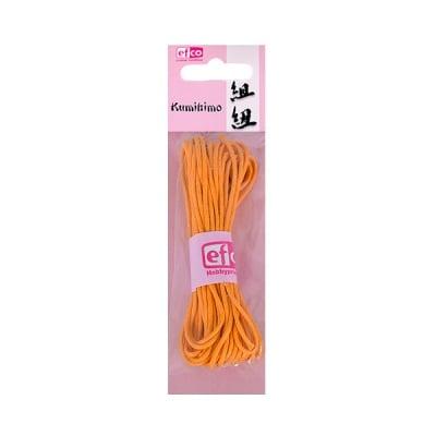 Восъчно памучен шнур, ф 2 mm / 6 m, тъмно жълт