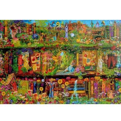 Пъзел художествен WENTWORTH,Garden shelf,1500 части