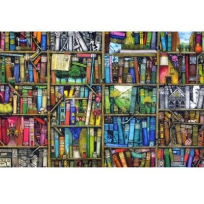 Пъзел художествен WENTWORTH, Bookshelf, 40 части