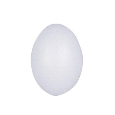 Яйце от стиропор, бял, H 100 mm
