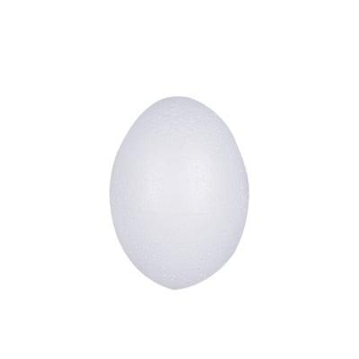Яйце от стиропор, бял, H 60 mm
