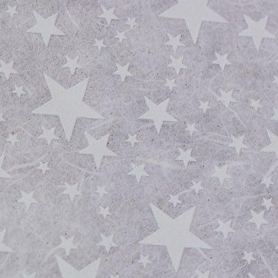 Японска 3D хартия, 35 g/m2, 50 x 70 cm, 5л в пакет, звезди
