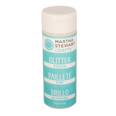 Запечатващ лак Martha Stewart, Glitter, 177 ml