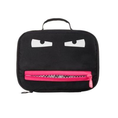 Чанта за храна Grillz, 26.5х8х20cm, черно/ розово